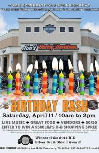 Jim's Harley Birthday Bash
